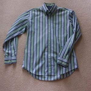 Long Sleeve Button Front Dress Shirt